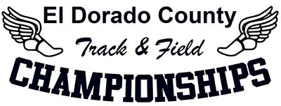 El Dorado County Track & Field Championships - May 16, 2015