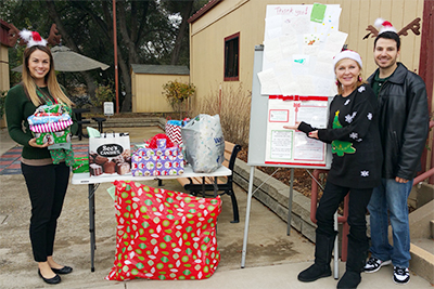 EDCOE Collects Presents for Community Members
