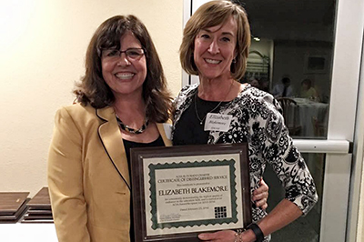 Quality Early Child Care Champion Wins Distinguished Service Award