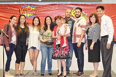 Angela Cazares Receives 2015-16 Excellence in Education Award
