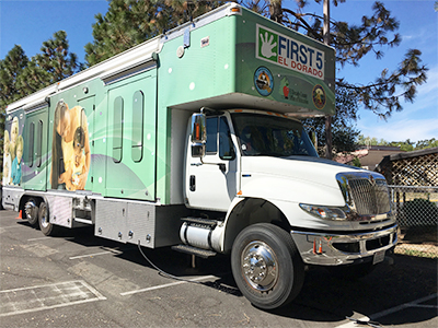 El Dorado Smiles Dental Van Coming to a School Near You