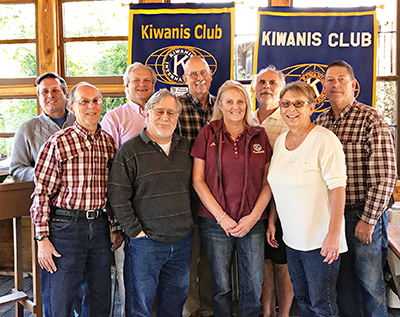 Placerville Kiwanis Club Installs New Leadership