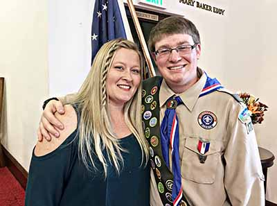 El Dorado High School Grad Becomes Eagle Scout