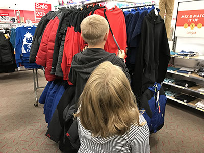 Students in Need Receive Clothes through Operation School Bell