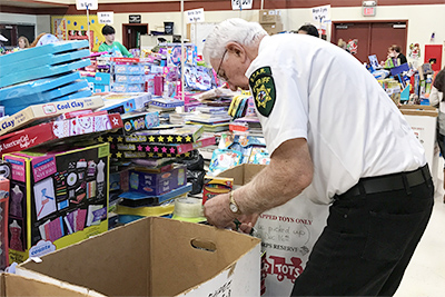 Toys for Tots brings Christmas to Children in Need