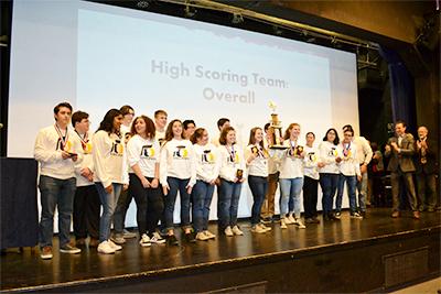 Oak Ridge High School Wins 2017 Academic Decathlon
