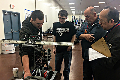 Charter Career Prep Wins VEX Robotics Competition
