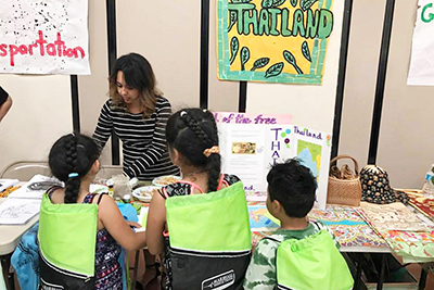 PUSD Multi-Cultural Night Takes Students Around the World
