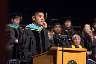 Dr. Ed Manansala Delivers 2017 U.C. Davis School of Education Commencement Address