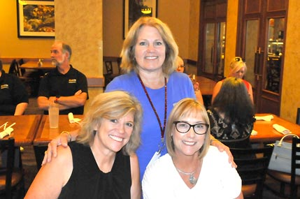 (Left to right) Jody Franklin, Linda Soto, and Cathy Zuber