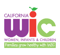 California W I C Women, Infants, and Childen - Families gorw healthy with W I C logo