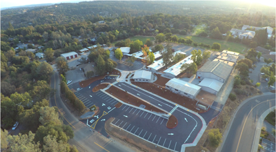 Herbert C. Green Middle School aerial view