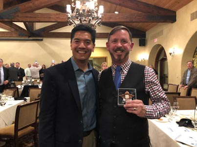From left to right: County Superintendent Dr. Ed Manansala and Indian Diggings School District Superintendent/Principal Grant Coffin.