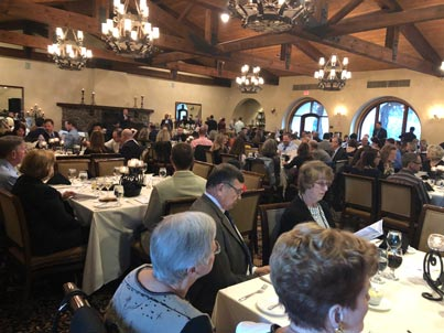 ACSA Gala attendees look on at the Catta Verdera Country Club.