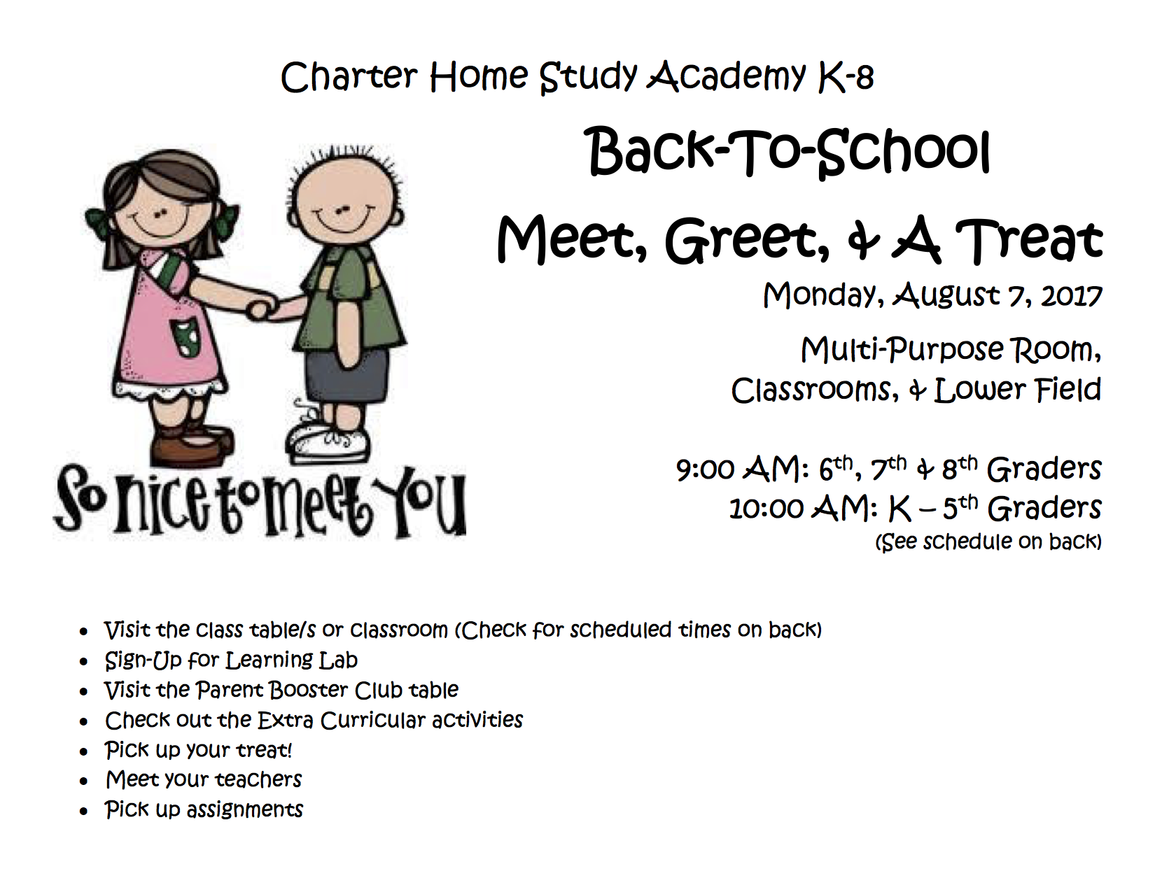 upcoming events charter home study academy k 8