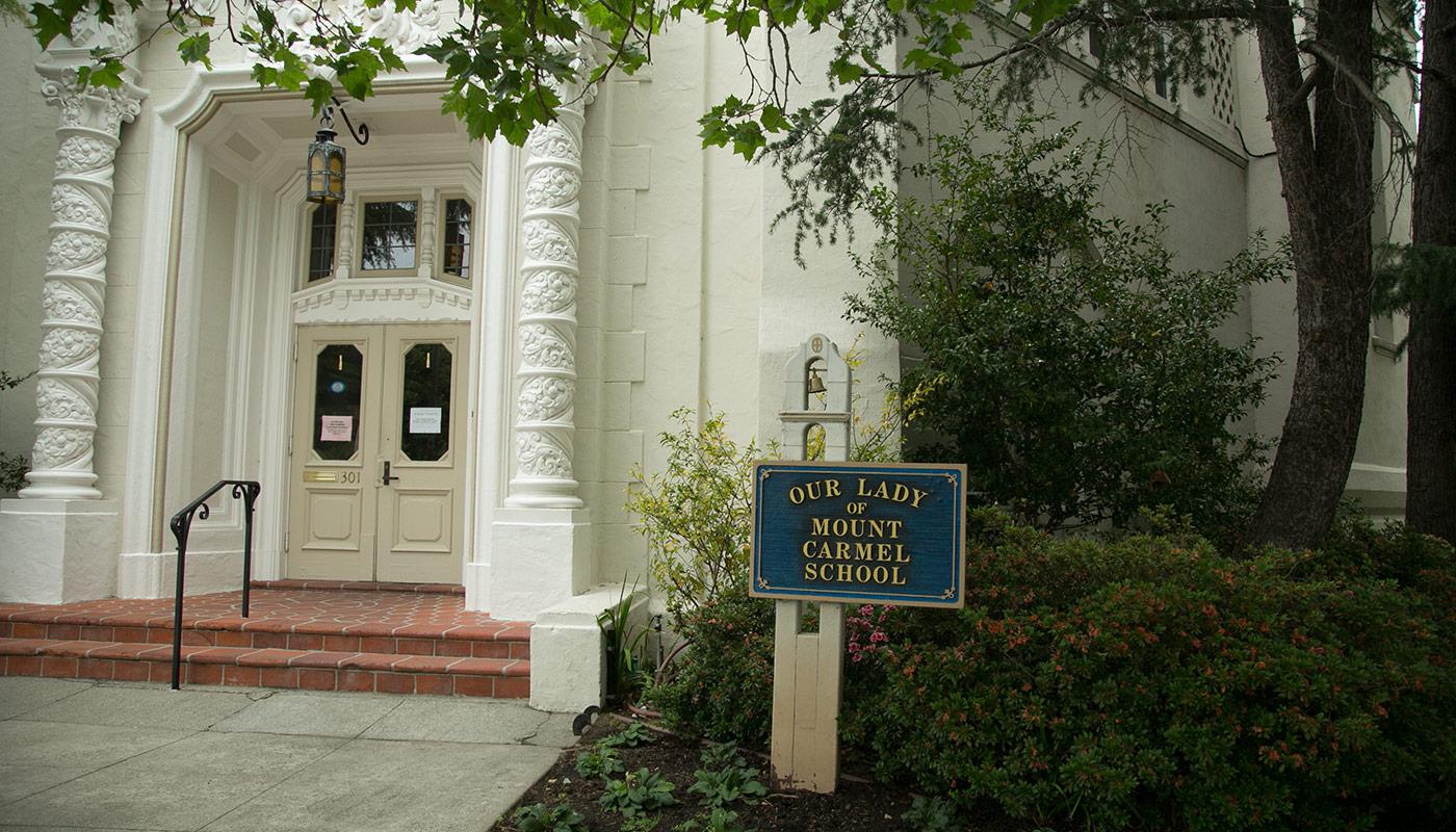 Our Lady of Mount Carmel School, 301 Grand Street, Redwood City