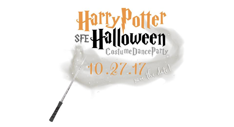 Harry Potter Halloween Costume Dance Party