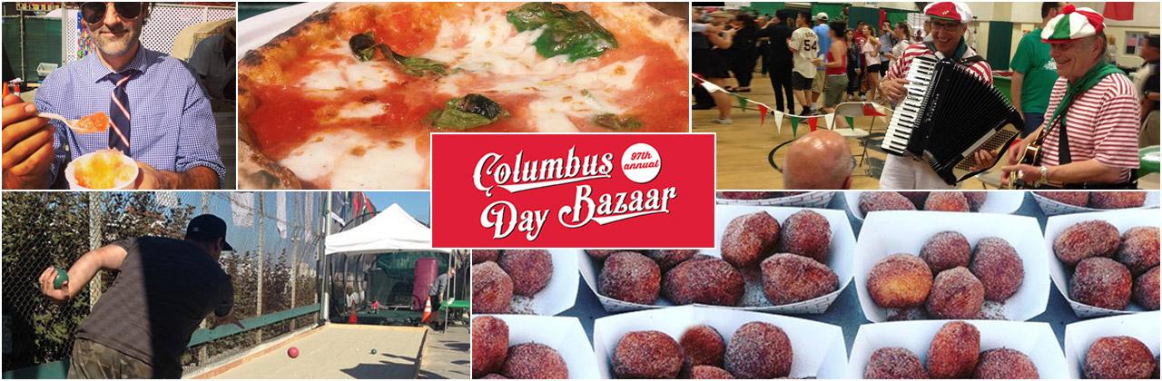 Columbus Day Bazaar