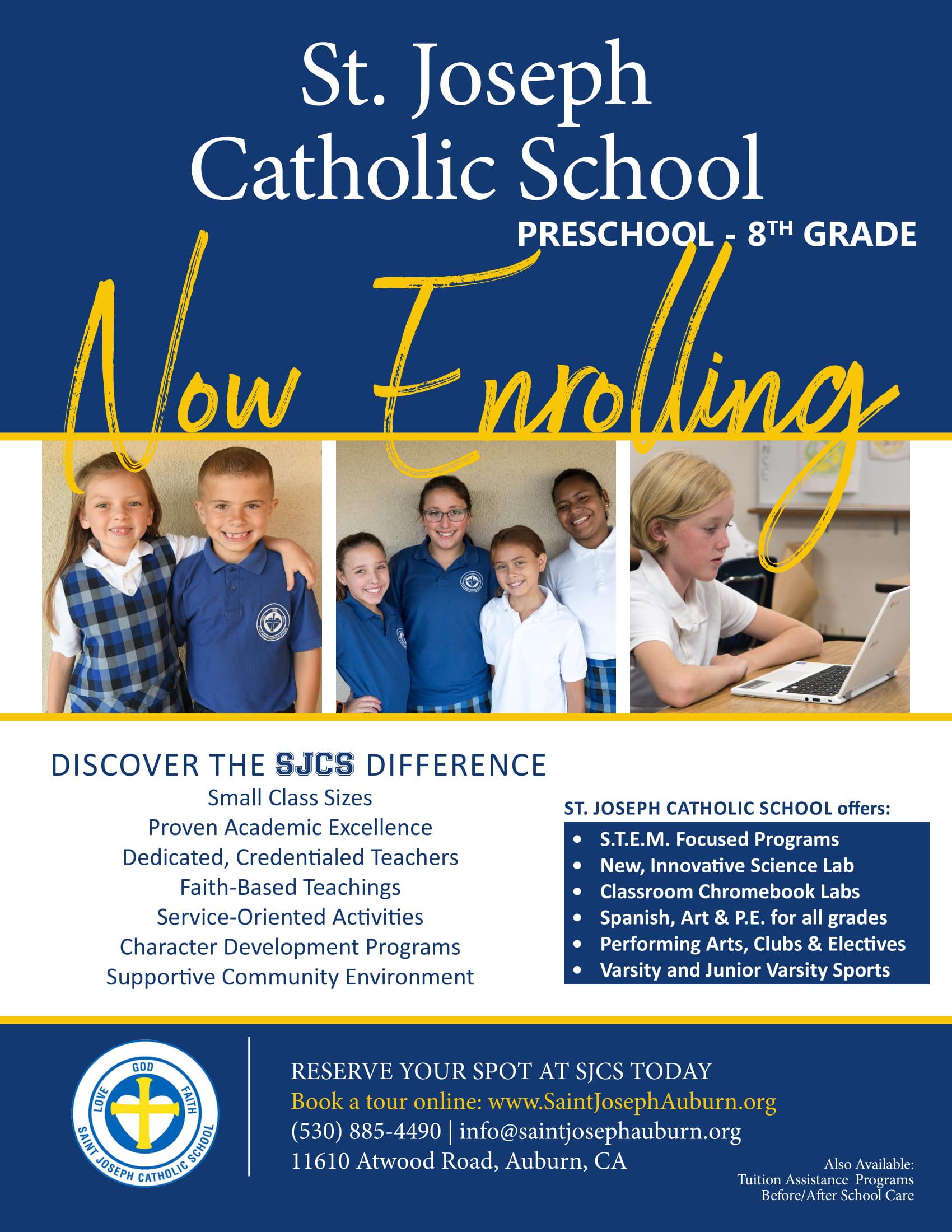 Enroll Now Flyer